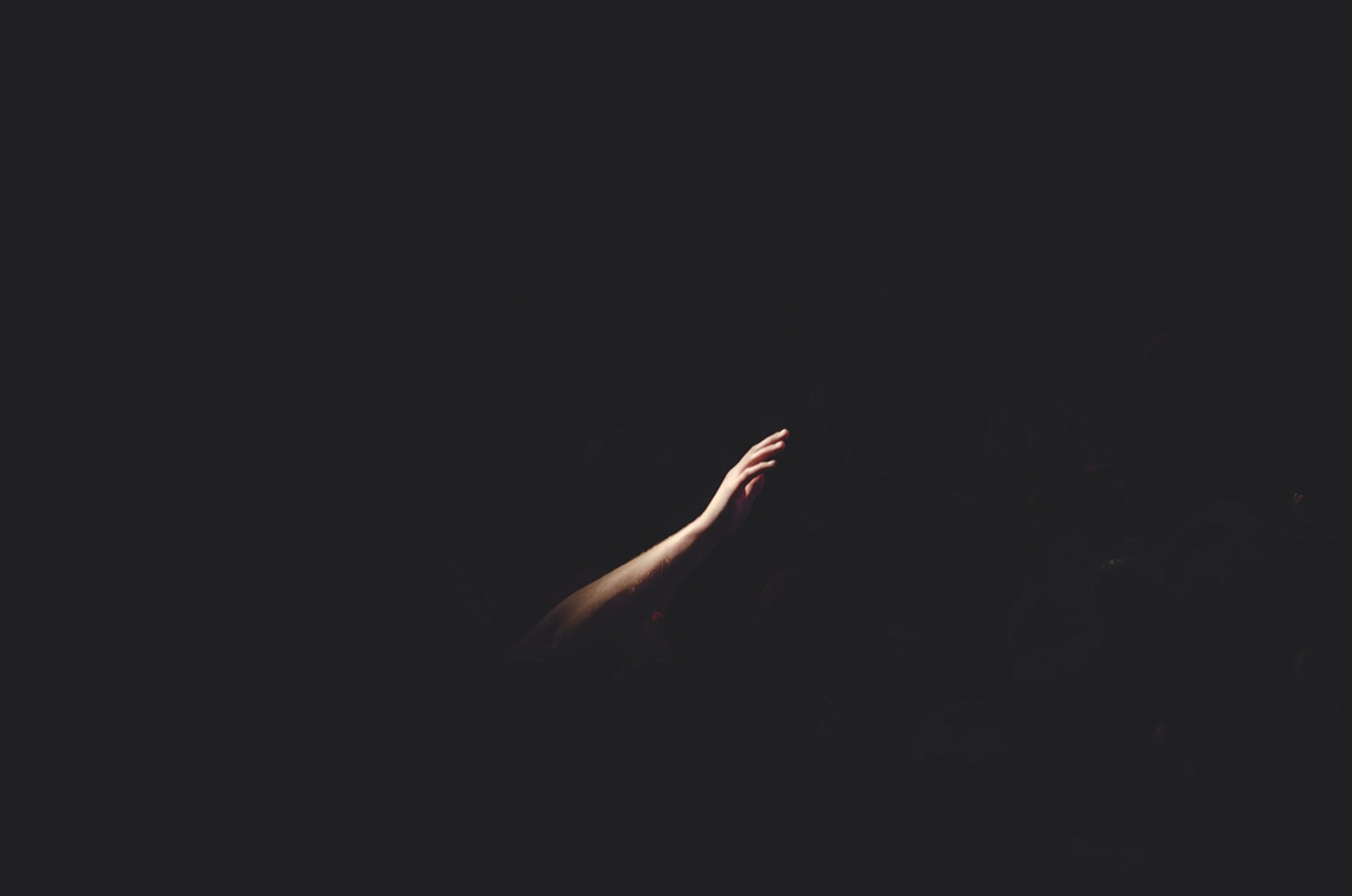 depression can make you feel like you are searching in the dark